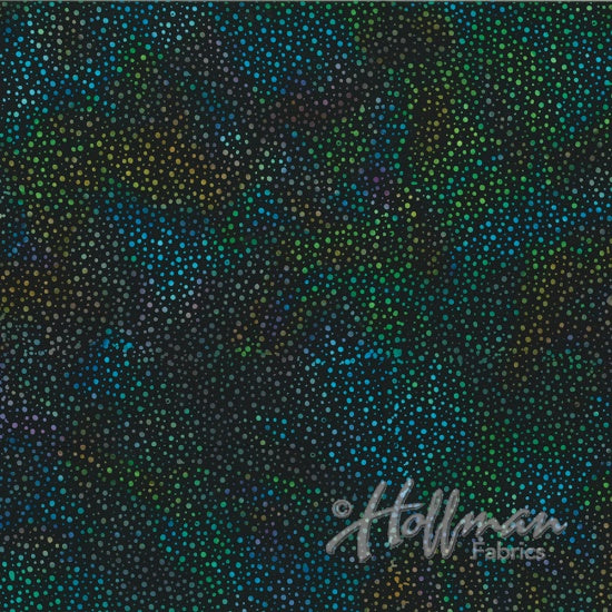 Hoffman Fabrics Dot Batiks Spectrum 885-657-Spectrum Cotton Fabric