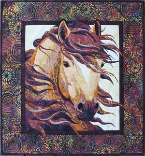 Toni Whitney Design Summer Breeze Horse Applique Quilt Pattern - Beaverhead Treasures LLC