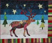 BJ Designs & Patterns Randolph Reindeer Applique Quilt Pattern - Beaverhead Treasures LLC