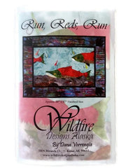 Wildfire Designs Alaska Run Reds Run Applique Quilt Pattern