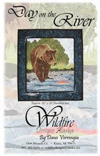 Wildfire Designs Alaska Day on the River Applique Quilt Pattern
