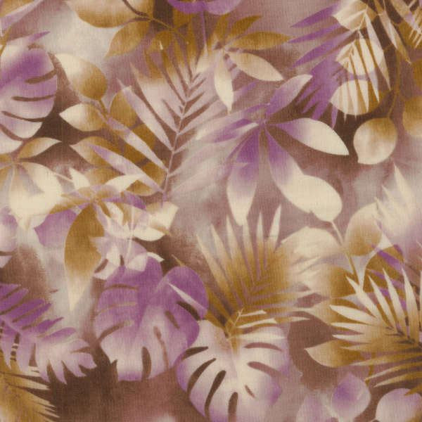 RJR Fabrics Purple Leaves
