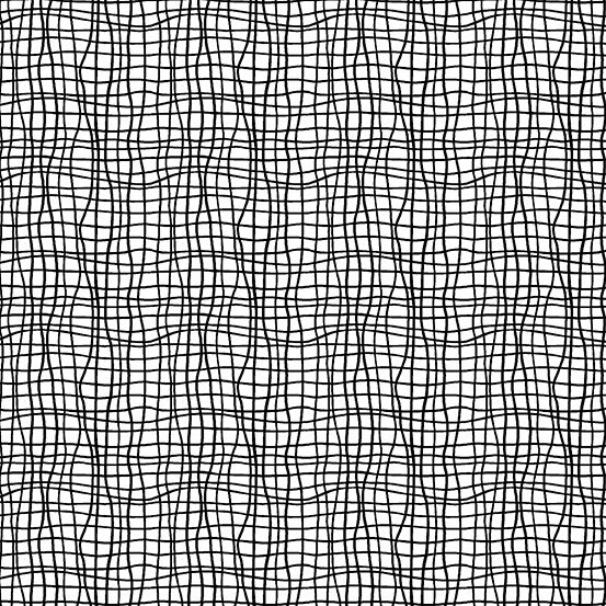 Andover Fabrics Tuxedo Wavy Grid Black and White Cotton Fabric A-9622-L