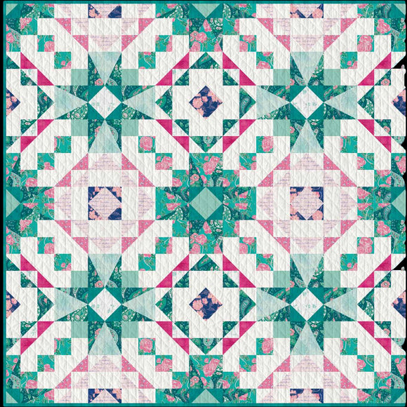 Clear Reflections for Art Gallery Fabrics Free Pattern Download