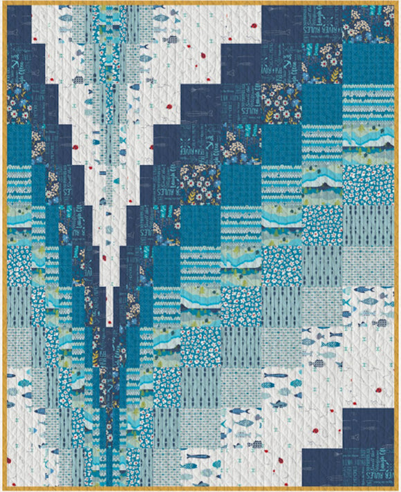 Making Waves for Art Gallery Fabrics Free Pattern Download
