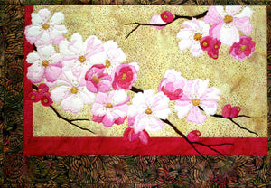 Toni Whitney Design Blossoms Applique Quilt Pattern