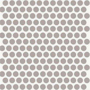 Birch Fabrics Dottie Shroom Organic Cotton Fabric by the Yard Gender Neutral Mod Basics Collection - Beaverhead Treasures LLC