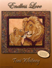 Toni Whitney Design Endless Love Applique Quilt Pattern Front Cover
