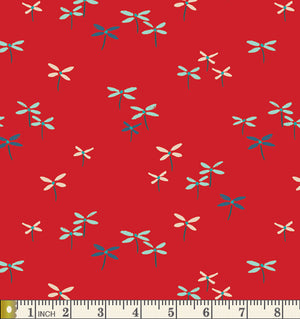 Art Gallery Fabrics Everlasting Flutter Buds Cotton Fabric EVR-86554 Scale