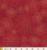 Art Gallery Fabrics Floral Elements Scarlet Blender Cotton Fabric FE-514-Scarlet