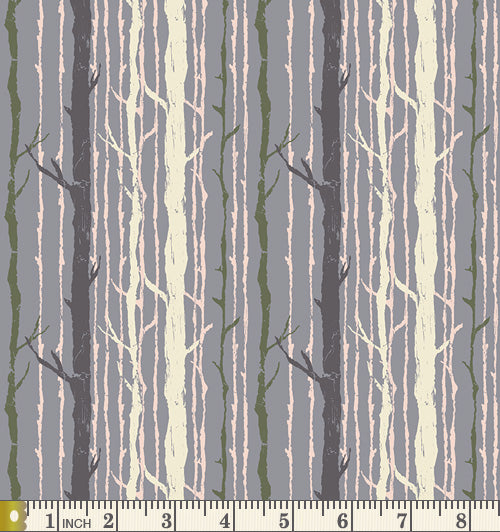 Art Gallery Fabrics Forest Floor Timber Nightfall Cotton Fat Quarter FOR-47708
