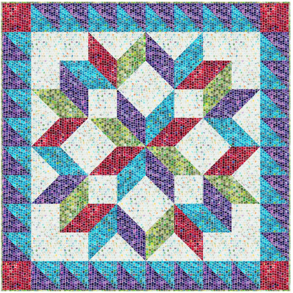 Stella Quilt Pattern for Hoffman Fabrics Free Pattern Download