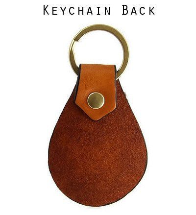 Leather Key Chain Back