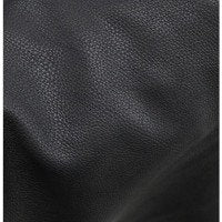 Dark Chocolate Brown Deerskin Leather Swatch