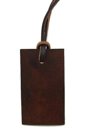 Luggage Tag Back View