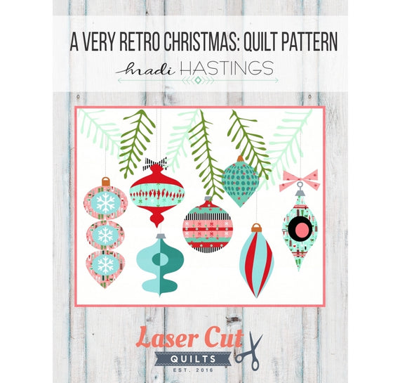 Madi Hastings A Very Retro Christmas Applique Quilt Pattern Front