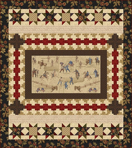 Memories of the Civil War 2 Quilt 1 by Jodi Barrows for Studio E FREE Pattern Download