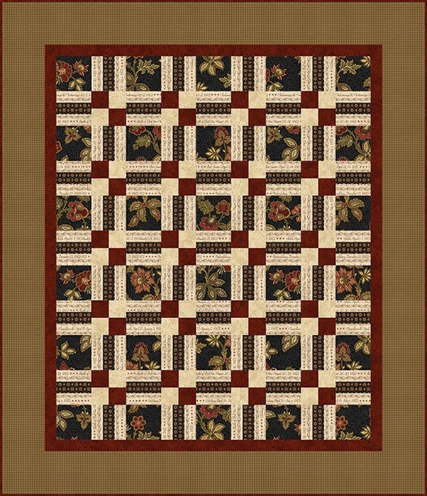 Memories of the Civil War 2 Quilt 2 by Jodi Barrows for Studio E FREE Pattern Download