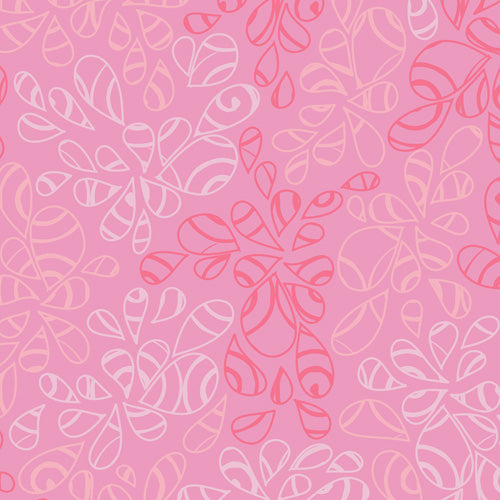 Art Gallery Fabrics Nature Elements Candy Pink Blender Fabric NE-114-Candy-Pink