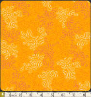 Art Gallery Fabrics Nature Elements Sweet Mango Blender Fabric NE-119-Sweet-Mango Scale