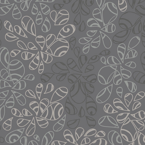 Art Gallery Fabrics Nature Elements Charcoal Blender Fabric NE-120-Charcoal
