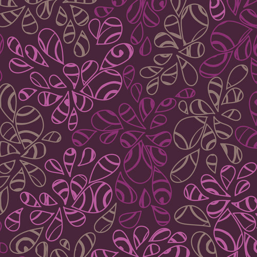 Art Gallery Fabrics Nature Elements Ripe Plum Blender Fabric NE-121-Ripe-Plum