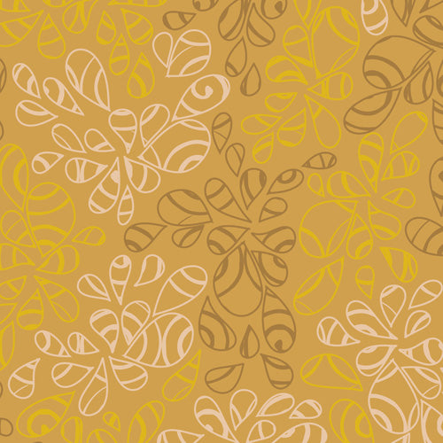 Art Gallery Fabrics Nature Elements Antique Gold Blender Fabric NE-125-Antique-Gold