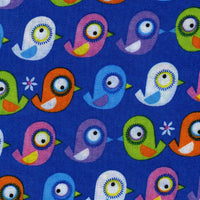 Timeless Treasures Blue Birds Organic Cotton