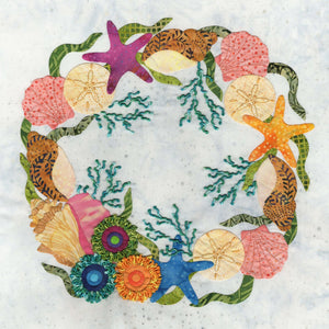 P3-2407 Sea Shell Wreath Block 7