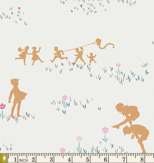Art Gallery Fabrics Playground Spy Friendship Cotton Fabric PLG-12349
