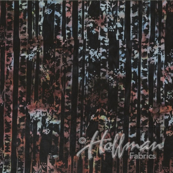 Hoffman Fabrics Vineyard Multi Birch Batik Cotton Fabric Q2141-545-Vineyard