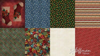 Hoffman Fabrics Ol St Nick Christmas Two Yard Fat Quarter Panel Digital Cotton Fabric Q4455-161-Christmas