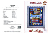 Kids Quilts Traffic Jam Truck Fire Engine Car Applique Quilt Pattern Covers