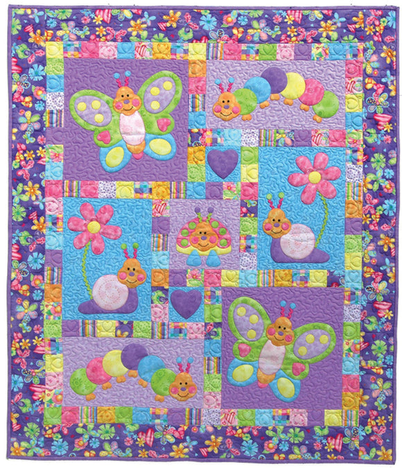 Kids Quilts Bugsy Applique Quilt Pattern