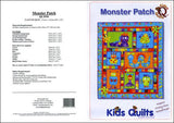 Kids Quilts Monster Patch Robot Bug Applique Quilt Pattern Covers