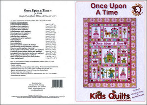 Kids Quilts Once Upon A Time Princess Fairy Tale Applique Quilt Pattern Covers
