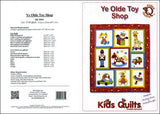 Kids Quilts Ye Olde Toy Shop Giraffe Rabbit Horse Toy Applique Quilt Pattern Covers