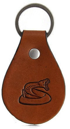 Rattlesnake Leather Keychain