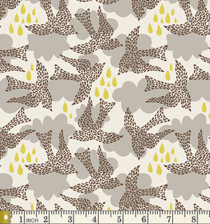 Art Gallery Fabrics Sweet as Honey Fly by Night Cotton Fabric SAH-2607