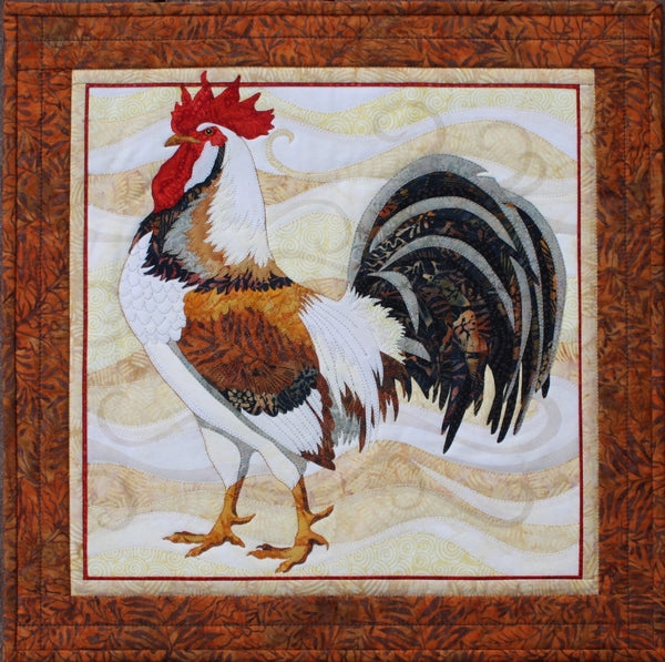 Toni Whitney Design All Gussied Up Rooster Applique Quilt Kit