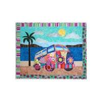 BJ Designs & Patterns Gotta Love My Bus Applique Quilt Pattern - Beaverhead Treasures LLC