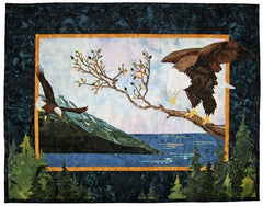 Wildfire Designs Alaska Taking Flight Applique Quilt Pattern - Beaverhead Treasures LLC