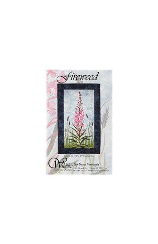 Wildfire Designs Alaska Fireweed Applique Quilt Kit with Pattern and Fabric Kit