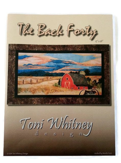 Toni Whitney Design The Back Forty Applique Quilt Pattern - Beaverhead Treasures LLC