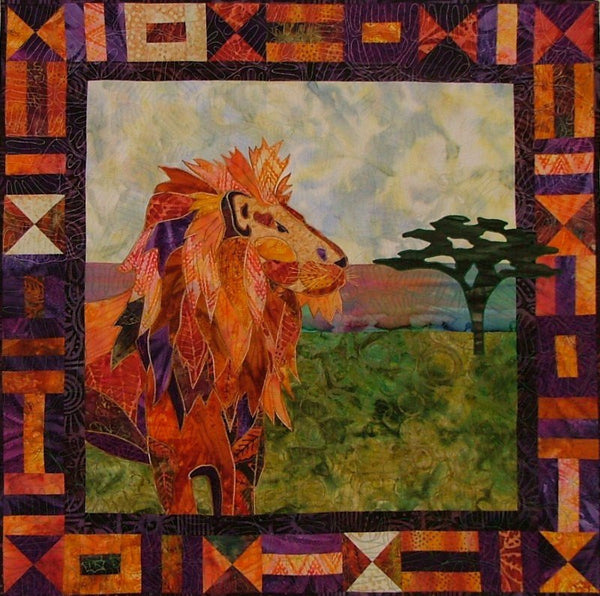 BJ Designs & Patterns Leonardo Applique Quilt Pattern - Beaverhead Treasures LLC