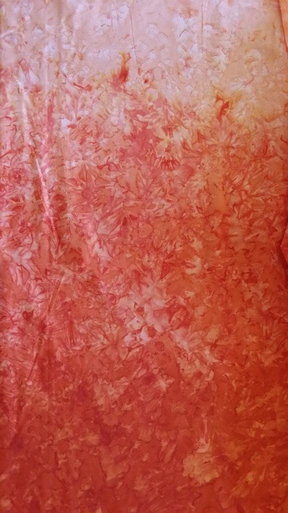 Fresh Water Java Fusion Orange Ombre Batik - Beaverhead Treasures LLC
