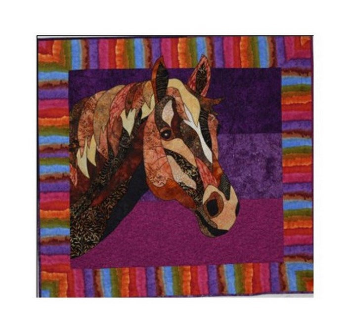 Bj Designs Patterns Dakota Horse Applique Quilt Pattern