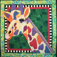 BJ Designs & Patterns Ginger Giraffe Applique Quilt Pattern
