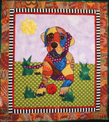 BJ Designs & Patterns Puppy Love Labrador Retriever Applique Quilt Pattern
