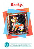 BJ Designs & Patterns Rocky the Schnauzer Dog Applique Quilt Pattern Front Cover